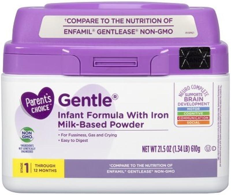 Parent S Choice Gentle Powder Infant Formula With Iron 21 5 Oz 1 Pack