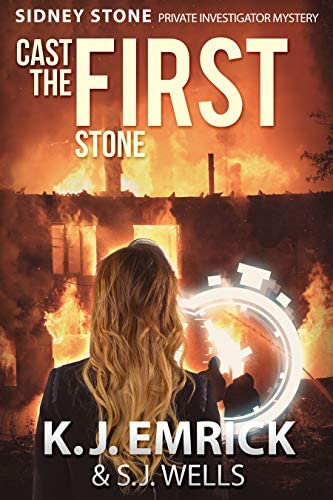Cast the FIRST Stone A Sidney Stone Private Investigator Paranormal Mystery Book 1 product image