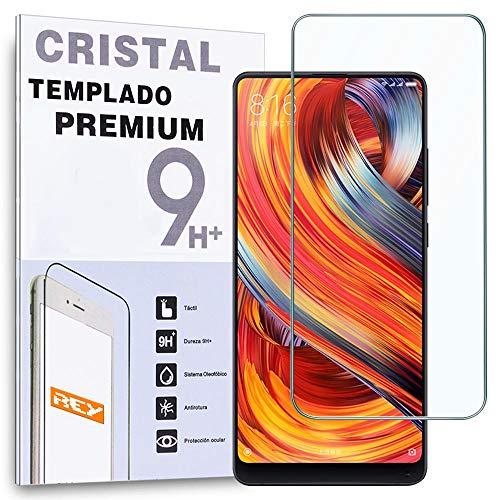 REY Protector de Pantalla para XIAOMI MI Mix 3 - MI Mix 3 5G, Cristal Vidrio Templado Premium