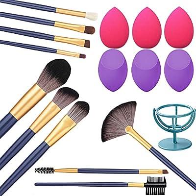 BESWON Makeup Brush Set 10pcs Makeup Brushes wi...