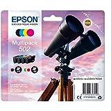 Epson C13T02V64010 - Tinta adecuado para XP5100, multipack 502 color negro, magenta, amarillo y cian