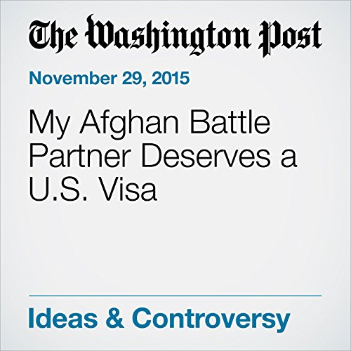 『My Afghan Battle Partner Deserves a U.S. Visa』のカバーアート