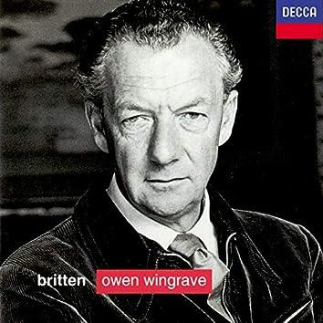 Britten: Owen Wingrave; 6 Hölderlin Fragments; The Poet's Echo