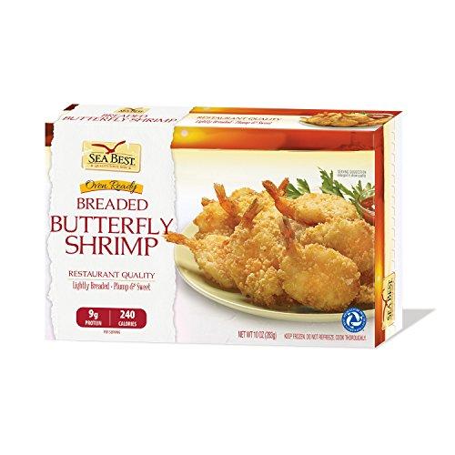 Sea Best 21/25 Butterfly Breaded Shrimp, 10 Ounce
