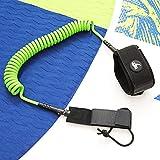 AKD Spiral Leash per Stand Up Paddle Board SUP Leash, guinzaglio da surf...