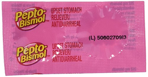 Pepto-bismol Chewable Tablets, Original, 2 Count (Pack of 25)