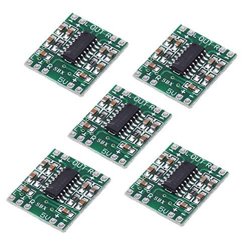 SongHe 5pcs PAM8403 23W Mini Digital Power Amplifier Board AMP Class D 2.5-5V Input