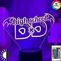 アニメ高校Dxd LED夜間照明寮装飾雰囲気色変更LEDギフト寝室テーブルランプ高校Dxd