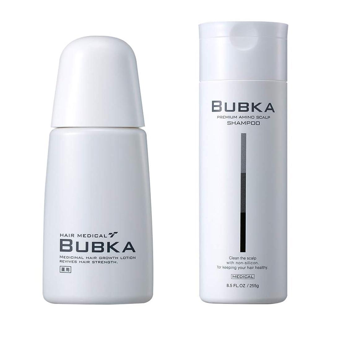 ペア国割合【BUBKA ブブカ 】濃密育毛剤 ブブカ-003M+BUBKAスカルプケアシャンプー おすすめセット