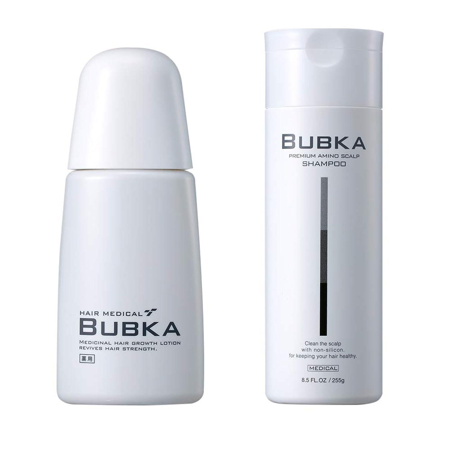 電球眠っている首相【BUBKA ブブカ 】濃密育毛剤 ブブカ-003M+BUBKAスカルプケアシャンプー おすすめセット