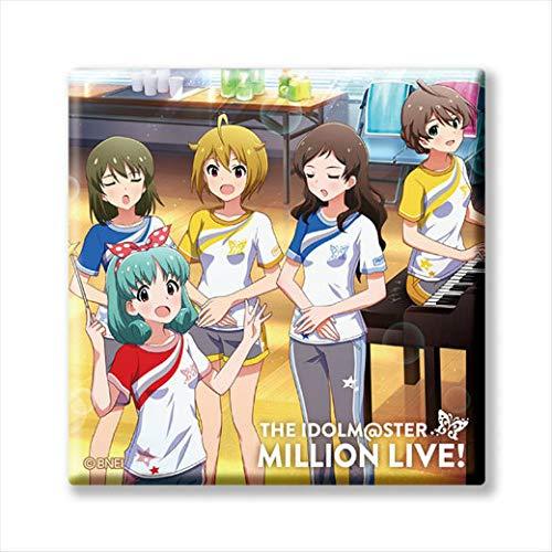 【M@STER SPARKLE 02】 アイドルマスター ミリオンライブ! トレーディングCDジャケット缶バッジ