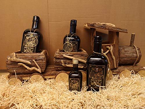 Monokel Dry Gin | milder, kräftiger Wacholderschnaps | aus 28 einheimischen Kräutern mit feiner Wacholder- und Zitrusnote | Harzer Gin Spezialität (0.5 l)