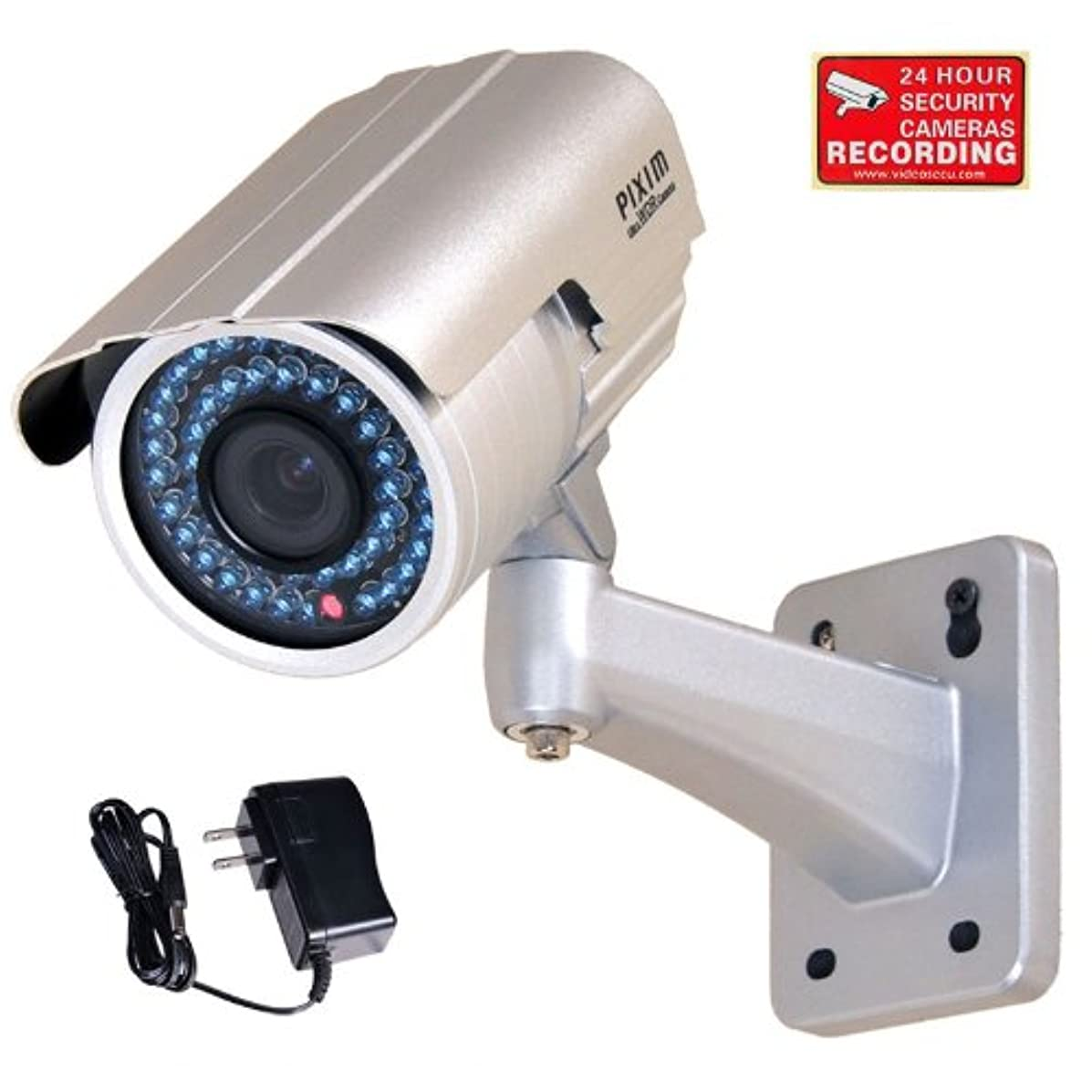 VideoSecu WDR Day Night Outdoor IR Zoom Security Camera 1/3