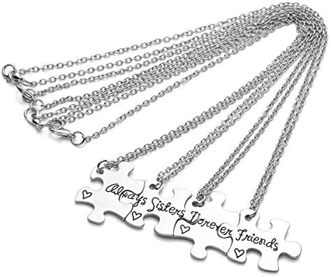 4 piece best friend necklace _image3