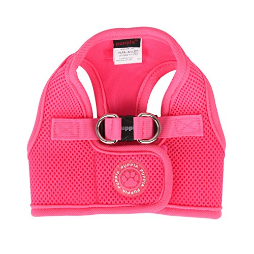 Puppia Neon Soft Vest Harness B, X-Large, Pink