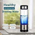 Starter Bouteille d'eau à l'hydrogène, Filtre à Eau alcaline, Machine à ioniser Portable, Tasse à Boire en Verre à hydrogène #2