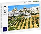 Lais Puzzle Pueblo Blancos - Olvera, Cádiz, Andalucía, España 1000 Piezas