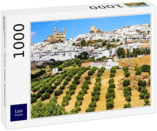 Puzzle Pueblo Blancos   Olvera, Cádiz, Andalucía, España 1000 Piezas