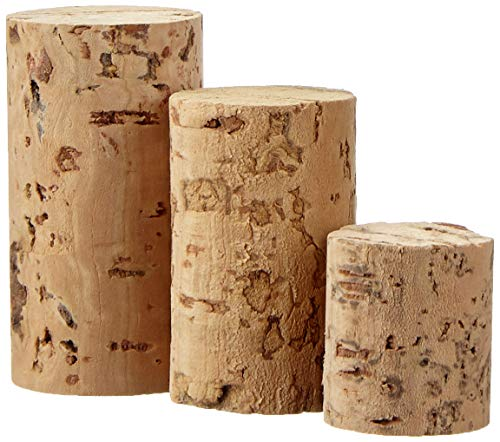 Nitebeat Records GC121 Assorted Cork Tops 100g Contains Approx 50 Pieces ranging from 2cm-4cm in Length, Natural