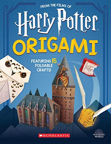 Compare Textbook Prices for Harry Potter Origami Harry Potter Illustrated Edition ISBN 9781338322965 by Scholastic