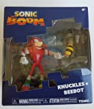 Sonic T22502 Tomy Boom Knuckles and Beebot 3' Figure Set