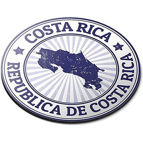 Ronde muismat - Repubblica Costa Rica Kaart Amerika Kantoor Gift