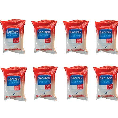 Sanitex Cleaning Hand Wipes, Fresh Scent, Pack with 20 Wipes (8)