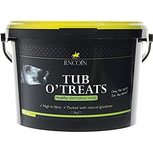 LINCOLN Tub O Treats Pferde-Leckereien (2,5kg) (kann variieren)