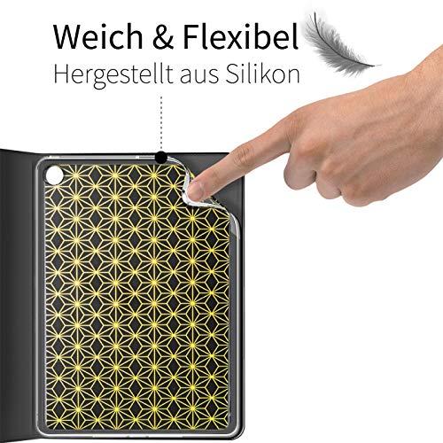 Verco Hülle für Huawei Mediapad M5 - M5 Pro, Schutzhülle Tablet Tasche Standfunktion Cover PU Leder [10,8 Zoll], Schwarz - 6