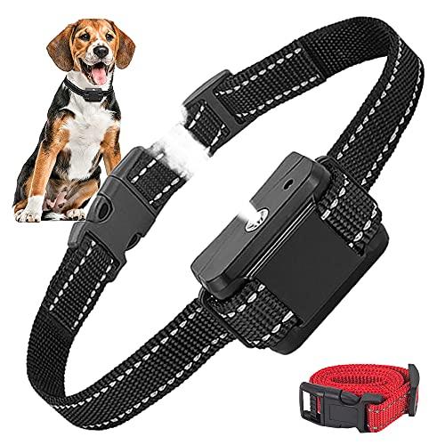 Citronella Bark Collar, Citronella Spray Anti Bark Collar Stop Dog Anti Barking Collars Adjustable Sensitivity & Volume Bark Control Training Collars