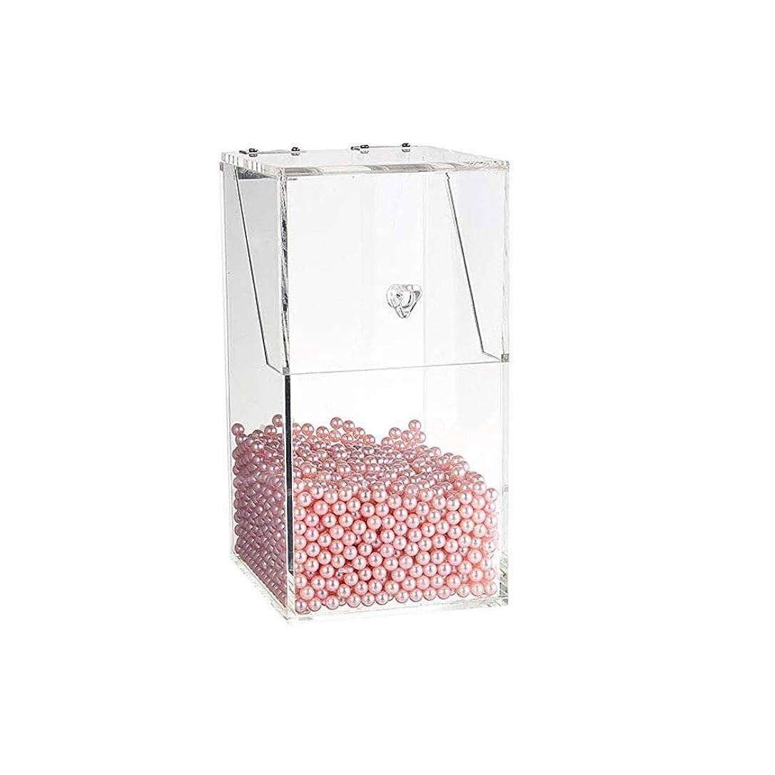 スポンサーコンサルタント効率高ダスト化粧ブラシボックスとピンクパールと蓋付きボックスを収納メイクブラシホルダー