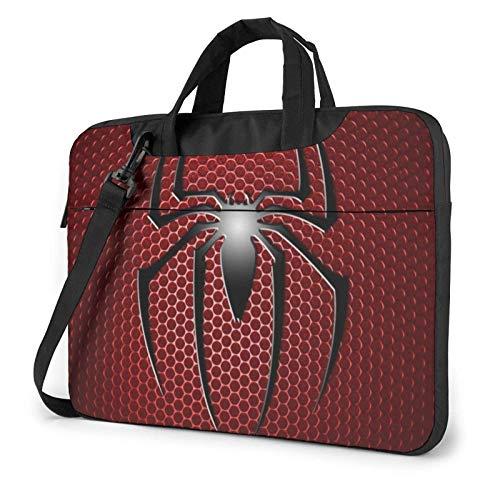 15.6 inch Laptop Shoulder Briefcase Messenger Movies S-pi-derman Tablet Bussiness Carrying Handbag Case Sleeve