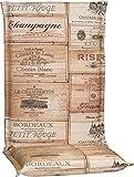 Beo Gartenmöbel Auflage für Hochlehner im Weinkisten Design