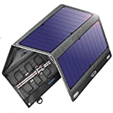 Solar Charger Solar Panel,VITCOCO 29W Solar Panel with Dual USB Ports 12V...