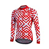 Xs-3Xl Long Sleeve Pro Cycling Jersey Men Cycling Bicycle Wear Sportswear Bike Clothing Outdoor Clothes-2-S