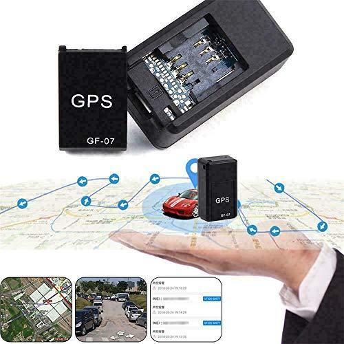 Magnetic Gf07 Mini GPS Echtzeit-Auto-Ortungs-Tracker, Mini-Ortungsgerät für versteckte Autos, Anti-Verlust-Diebstahl-Gerät Motorrad-LKW-Ortung