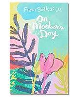 両方からの米国母の日カードfor Mom with Glitter