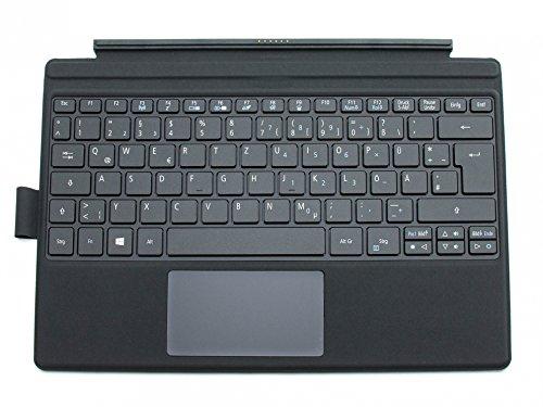 ACER Switch Alpha 12 (SA5-271) Original Tastatur inkl. Topcase DE (deutsch) schwarz/schwarz mit Backlight