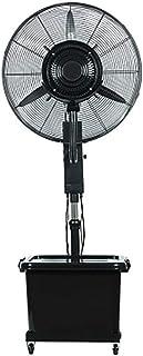 ZHANGYY Ventilador de nebulización oscilante, Ventilador oscilante silencioso de Humedad atomizadora, enfriamiento de 3 velocidades, Industrial y Comercial