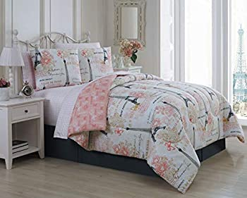 Avondale Manor Amour 8-Piece Comforter Set Queen Pink