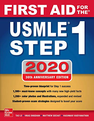 First Aid for the USMLE Step 1 2020, Thirtieth edition