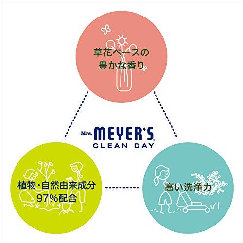 ミセスマイヤーズクリーンデイ(Mrs.MeyersCleanDay)食洗機用洗剤タブレットレモンバーベナの香り20錠360g