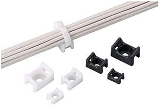 Panduit TM2S8-C0 Cable Tie Mount, .43-Inch, #8 Screw, Weather Resistant, Nylon, Black (100-Pack)