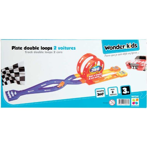 WDK Partner - A1400137 - Jeu De Construction - Piste Double Loop