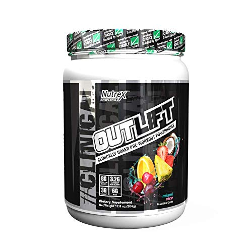 Nutrex Research Outlift (20 Serv) Miami Vice, 504 g
