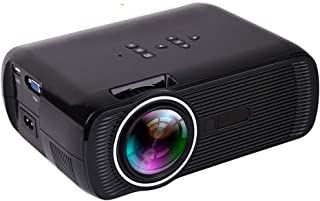 Built-in Android6.0 WiFi LED Video Projector, Digital Home Theater Projector, Full HD 1080P Support, Smart Projector,Black