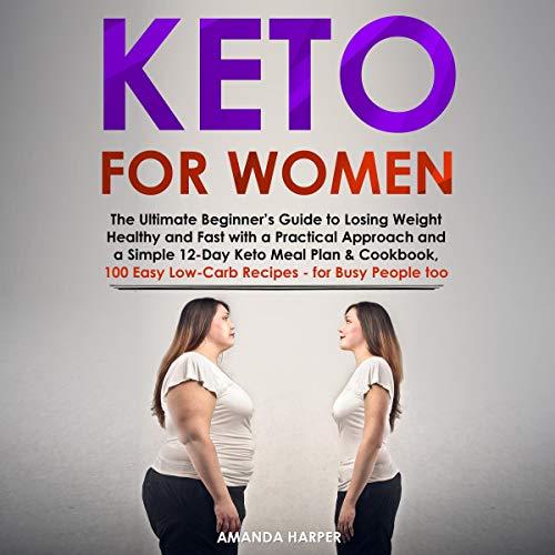 Keto for Women audiobook cover art