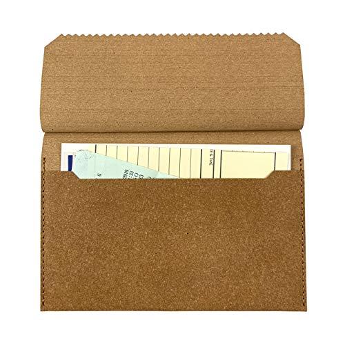 SWELL/スウェル リサイクルレザー Daily envelope/デイリー エンベロープ 【レシートホルダー 伝票ホルダー 通帳ケース ノベルティ】