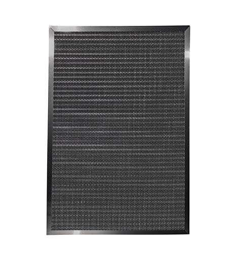 LifeSupplyUSA Replacement Heavy Duty 20x30x1 Aluminum Electrostatic Washable Air Purifier A/C Filter for Central HVAC Conditioner Furnace Systems