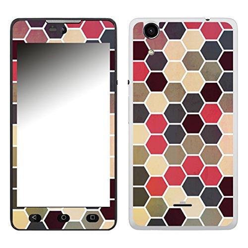 Disagu SF-106574_1205 Design Folie für Wiko Rainbow Lite - Motiv Polygone 02